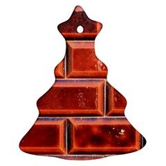 Portugal Ceramic Tiles Wall Christmas Tree Ornament (two Sides)