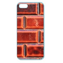 Portugal Ceramic Tiles Wall Apple Seamless Iphone 5 Case (color)