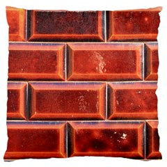Portugal Ceramic Tiles Wall Large Flano Cushion Case (one Side)