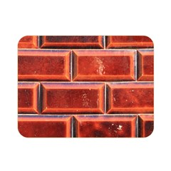 Portugal Ceramic Tiles Wall Double Sided Flano Blanket (mini)