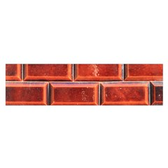 Portugal Ceramic Tiles Wall Satin Scarf (Oblong)