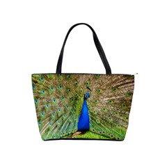 Peacock Animal Photography Beautiful Shoulder Handbags