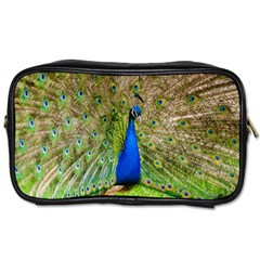 Peacock Animal Photography Beautiful Toiletries Bags