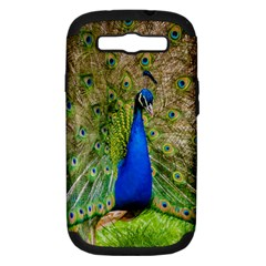 Peacock Animal Photography Beautiful Samsung Galaxy S Iii Hardshell Case (pc+silicone)