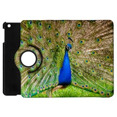 Peacock Animal Photography Beautiful Apple Ipad Mini Flip 360 Case