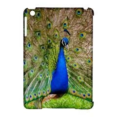 Peacock Animal Photography Beautiful Apple Ipad Mini Hardshell Case (compatible With Smart Cover)