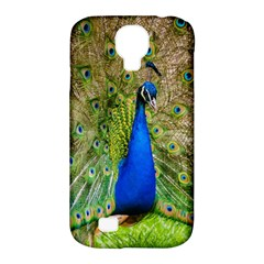 Peacock Animal Photography Beautiful Samsung Galaxy S4 Classic Hardshell Case (pc+silicone)