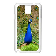 Peacock Animal Photography Beautiful Samsung Galaxy Note 3 N9005 Case (white)