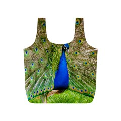 Peacock Animal Photography Beautiful Full Print Recycle Bags (s)