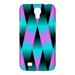 Shiny Decorative Geometric Aqua Samsung Galaxy Mega 6 3  I9200 Hardshell Case