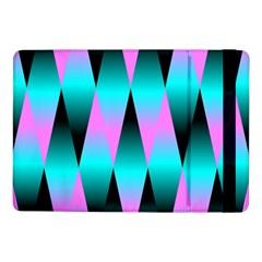 Shiny Decorative Geometric Aqua Samsung Galaxy Tab Pro 10 1  Flip Case