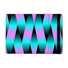 Shiny Decorative Geometric Aqua Ipad Mini 2 Flip Cases