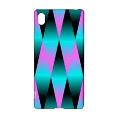 Shiny Decorative Geometric Aqua Sony Xperia Z3+