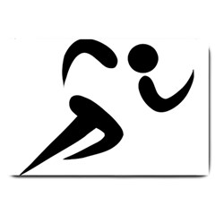 Athletics Pictogram Large Doormat