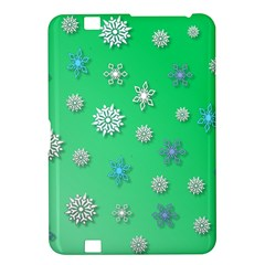 Snowflakes Winter Christmas Overlay Kindle Fire Hd 8 9