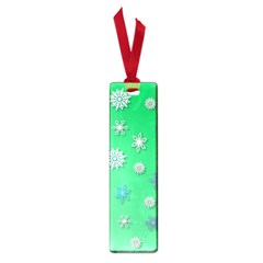 Snowflakes Winter Christmas Overlay Small Book Marks
