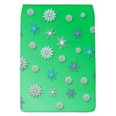 Snowflakes Winter Christmas Overlay Flap Covers (L)