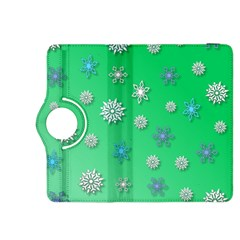 Snowflakes Winter Christmas Overlay Kindle Fire Hdx 8 9  Flip 360 Case