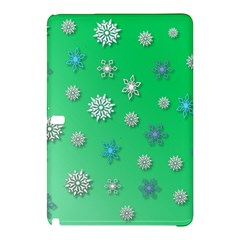 Snowflakes Winter Christmas Overlay Samsung Galaxy Tab Pro 12 2 Hardshell Case