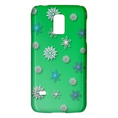 Snowflakes Winter Christmas Overlay Galaxy S5 Mini