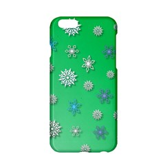 Snowflakes Winter Christmas Overlay Apple Iphone 6/6s Hardshell Case