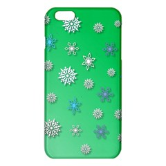 Snowflakes Winter Christmas Overlay Iphone 6 Plus/6s Plus Tpu Case