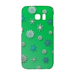 Snowflakes Winter Christmas Overlay Galaxy S6 Edge