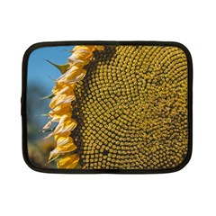 Sunflower Bright Close Up Color Disk Florets Netbook Case (small)