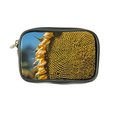 Sunflower Bright Close Up Color Disk Florets Coin Purse