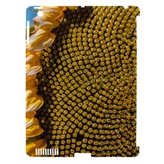 Sunflower Bright Close Up Color Disk Florets Apple Ipad 3/4 Hardshell Case (compatible With Smart Cover)
