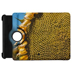 Sunflower Bright Close Up Color Disk Florets Kindle Fire Hd 7