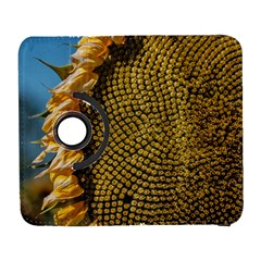Sunflower Bright Close Up Color Disk Florets Galaxy S3 (flip/folio)