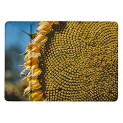 Sunflower Bright Close Up Color Disk Florets Samsung Galaxy Tab 10 1  P7500 Flip Case
