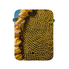 Sunflower Bright Close Up Color Disk Florets Apple Ipad 2/3/4 Protective Soft Cases