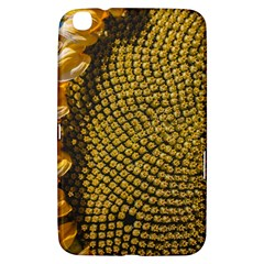 Sunflower Bright Close Up Color Disk Florets Samsung Galaxy Tab 3 (8 ) T3100 Hardshell Case