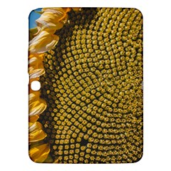 Sunflower Bright Close Up Color Disk Florets Samsung Galaxy Tab 3 (10 1 ) P5200 Hardshell Case