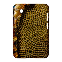Sunflower Bright Close Up Color Disk Florets Samsung Galaxy Tab 2 (7 ) P3100 Hardshell Case