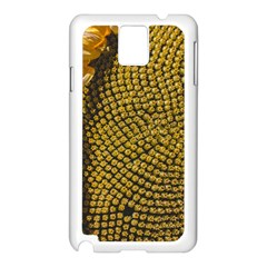 Sunflower Bright Close Up Color Disk Florets Samsung Galaxy Note 3 N9005 Case (white)