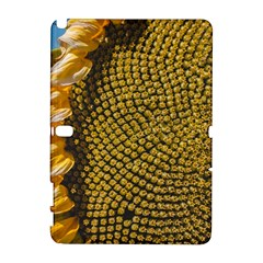 Sunflower Bright Close Up Color Disk Florets Galaxy Note 1