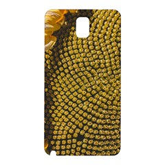 Sunflower Bright Close Up Color Disk Florets Samsung Galaxy Note 3 N9005 Hardshell Back Case