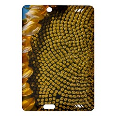 Sunflower Bright Close Up Color Disk Florets Amazon Kindle Fire Hd (2013) Hardshell Case