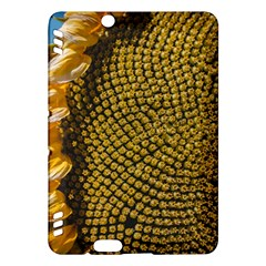 Sunflower Bright Close Up Color Disk Florets Kindle Fire Hdx Hardshell Case