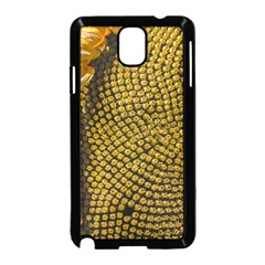 Sunflower Bright Close Up Color Disk Florets Samsung Galaxy Note 3 Neo Hardshell Case (black)