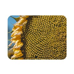 Sunflower Bright Close Up Color Disk Florets Double Sided Flano Blanket (mini)