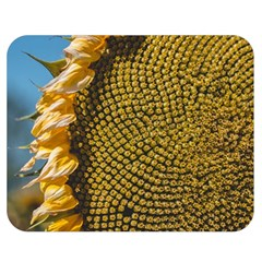 Sunflower Bright Close Up Color Disk Florets Double Sided Flano Blanket (medium)