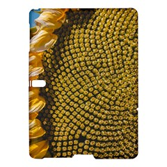 Sunflower Bright Close Up Color Disk Florets Samsung Galaxy Tab S (10 5 ) Hardshell Case