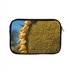Sunflower Bright Close Up Color Disk Florets Apple Macbook Pro 15  Zipper Case