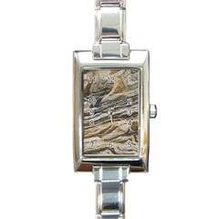 Rock Texture Background Stone Rectangle Italian Charm Watch