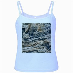 Rock Texture Background Stone Baby Blue Spaghetti Tank