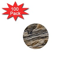 Rock Texture Background Stone 1  Mini Buttons (100 Pack)